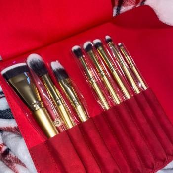 Glitter and Gold Brush Set-...